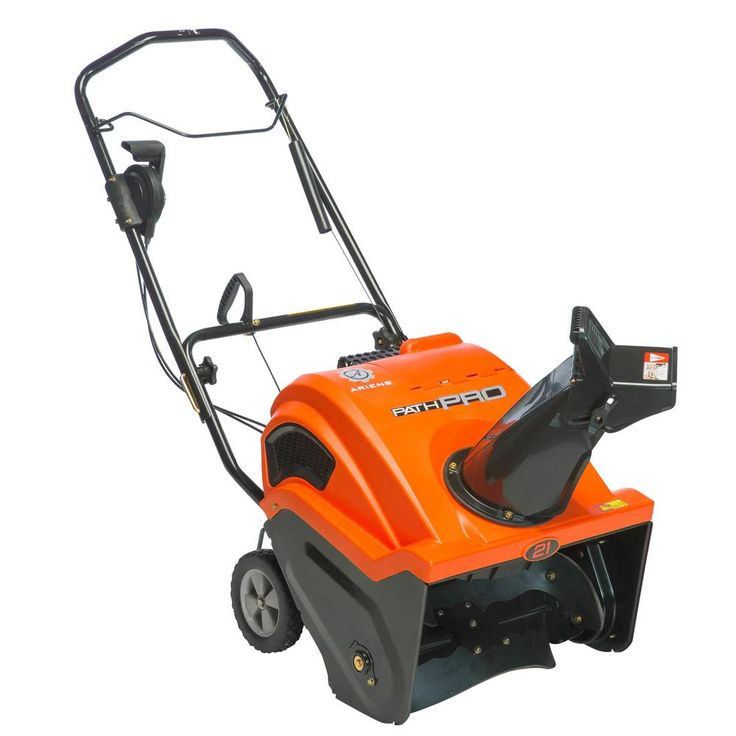 Path-Pro SS21EC 21 in. 208cc Single-Stage Electric Start Gas Snow Blower