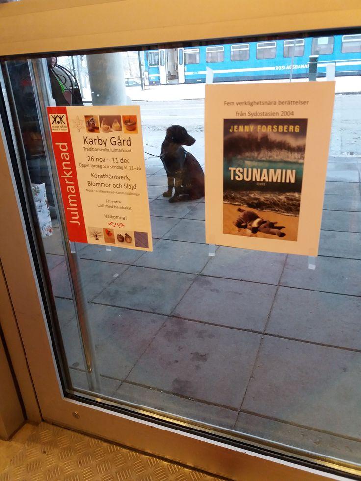 Tsunamin i Näsbyparks bokhandel
