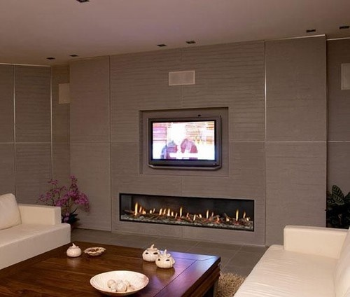 113 Best Tv And Fireplace Images On Pinterest Fire Places Modern Fireplace Mantels And Modern