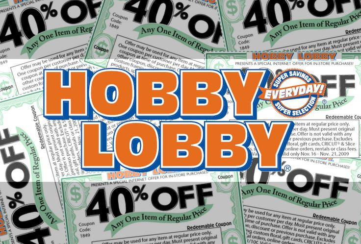Every Sunday, a new Hobby Lobby Weekly Ad is released that has thousands of products on sale and features offers such as free shipping. 10% Discount: Hobby Lobby give a 10 percent discount to churches, schools, and national charitable organizations in .