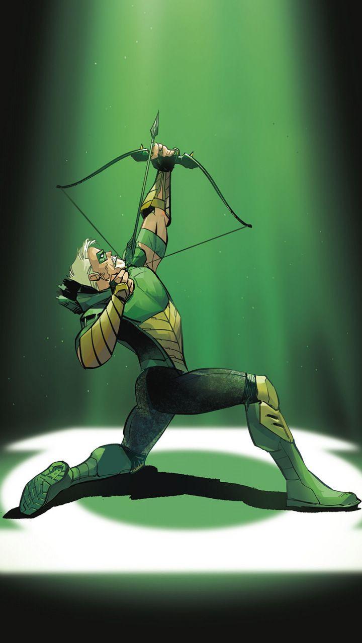 Green Arrow Archer Superhero Dc Comics 720x1280 Wallpaper