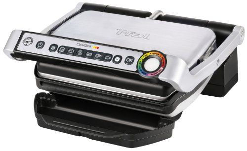 T-fal introduces OptiGrill, the first electric grill with Precision Grilling Technology which cooks food to your preference based on the program selected (burger, poultry, sandwiches, sausage and pork, red meat or fish) and by measuring the thickness of the food. The T-fal GC702D53 … Continue reading T-fal GC702D OptiGrill Stainless Steel Indoor Electric Grill, 1800-watt, Silver →