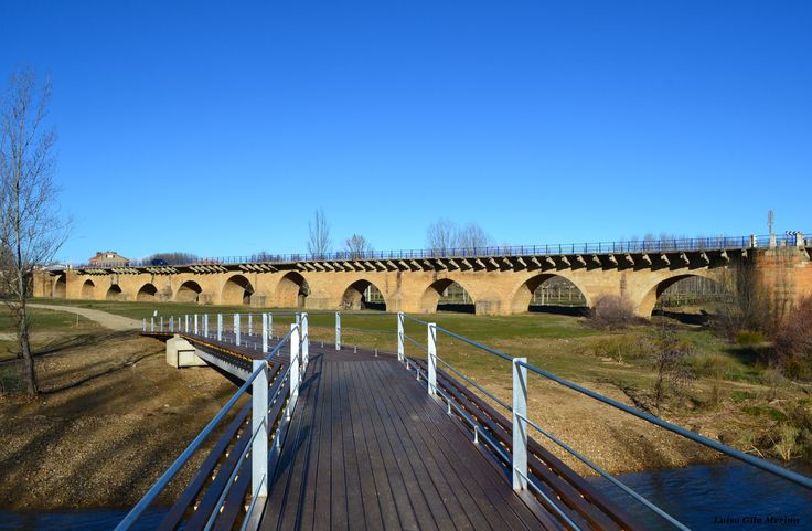 Puente Villarente, León, Camino de Santiago