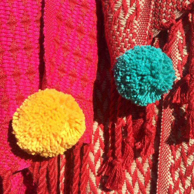 Brightening up the collection with some organic cotton pompoms :) #sustainablefashion #sustainable #sustainableliving #sustainabletextiles #sustainabledesign #eco #ecofriendly #ecotextiles #plantbased #vegan #crueltyfree #organic #weaver #woven #woventextiles #textile #textiledesign #textiledesigner #luxury #luxuryyarn #luxurylife #luxurylifestyle #madeinhampshire #madewithlove #footpowered #organiccotton #organiccottonyarn #bamboo #bambooyarn
