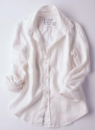 White shirts ¥19,950 / Frank & Eileen