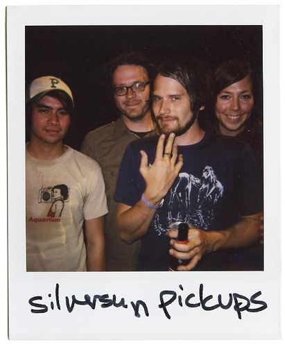 Silversun Pickups. i am passionately in love with this band. i think me and nikki can be BFFs