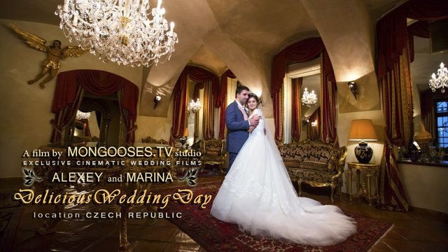 Alice in Wonderland wedding. A very romantic story about wedding that happened in Prague, Chateau Dobrish and Liblice in Czech Republic.