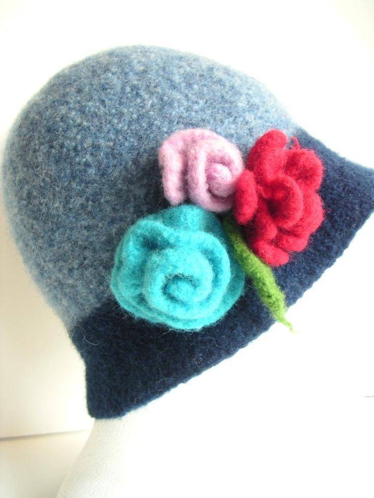 Knitting Roses Easy : Meer dan afbeeldingen over vilt en wol prikken op