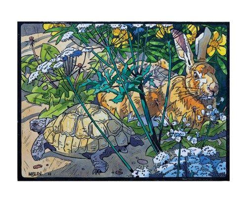 'Hare & Tortoise' by Andrew Haslen (ah5)