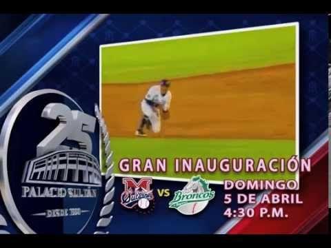 Gran inauguración 2015, El beisbol esta de regreso!!! Mañana te esperamos en punto de las 4:30 pm. #UnPalacioUnEquipoPasiónReal
