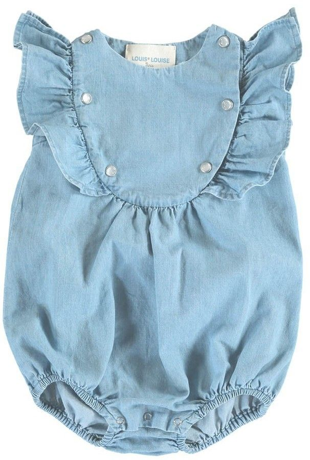 Sparrow Chambray Romper