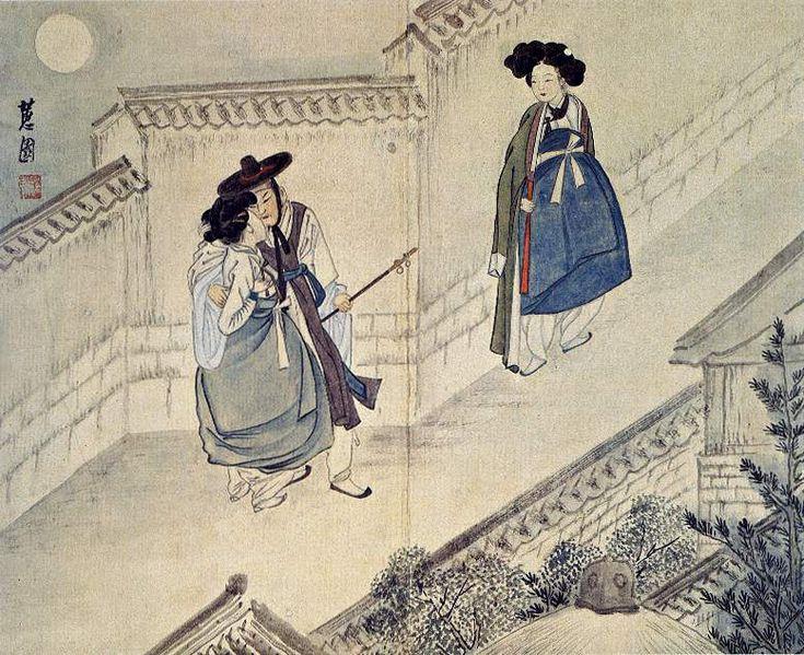 WIKITREE | 한국인이면 봐둬야 할 '신윤복 풍속화' 30점
