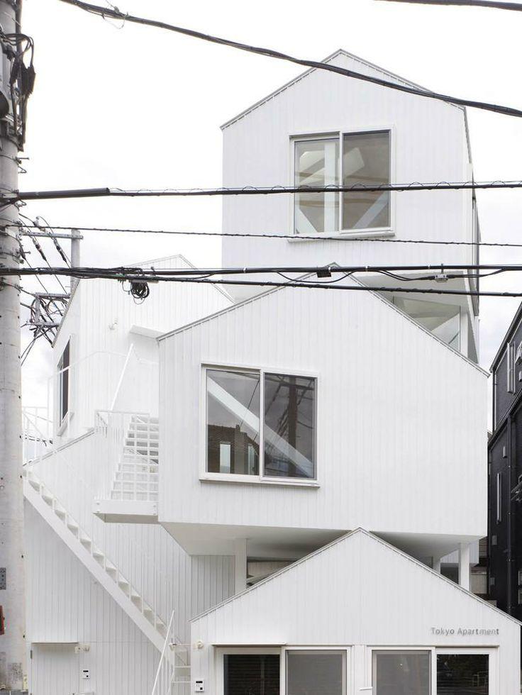 Tokyo Apartments by Sou Fujimoto: House Japan, Colour White, Architecture 101, Tokyo Apartment, Fujimoto Architects, Apartments, Japan Architecture, Sou Fujimoto, Architecture Apartmentdesign