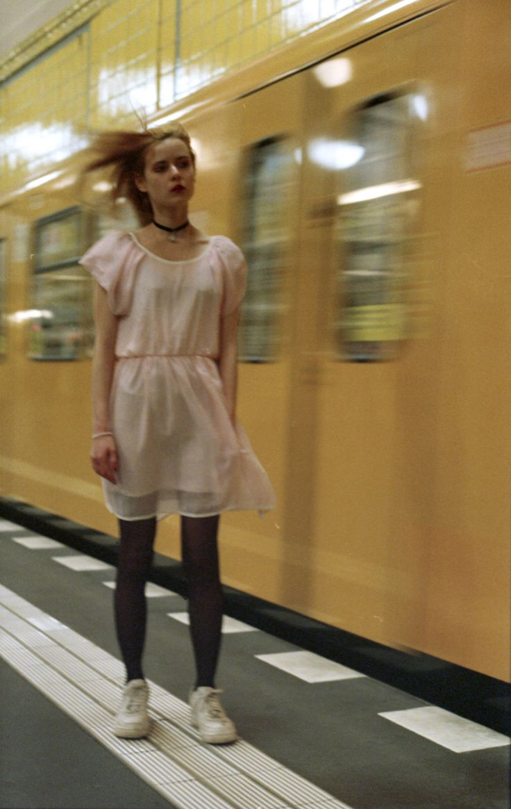 I don't care by Nalie in the Berlin underground (Germany)- Fashion Grunge