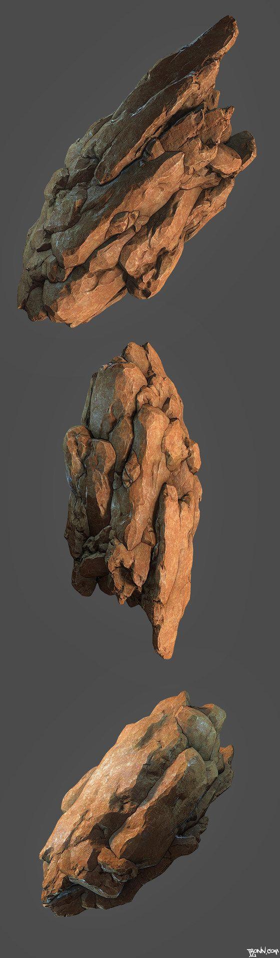 ArtStation - Rocks, Jonas Ronnegard