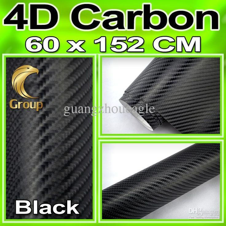 Wholesale Car Wrap Pricing Black 4D Carbon Fiber Vinyl Car Wrap Sticker with Air Drain Bubble Free Size:1.52x0.6m, Free shipping, $0.21-0.21/Centimeter | DHgate