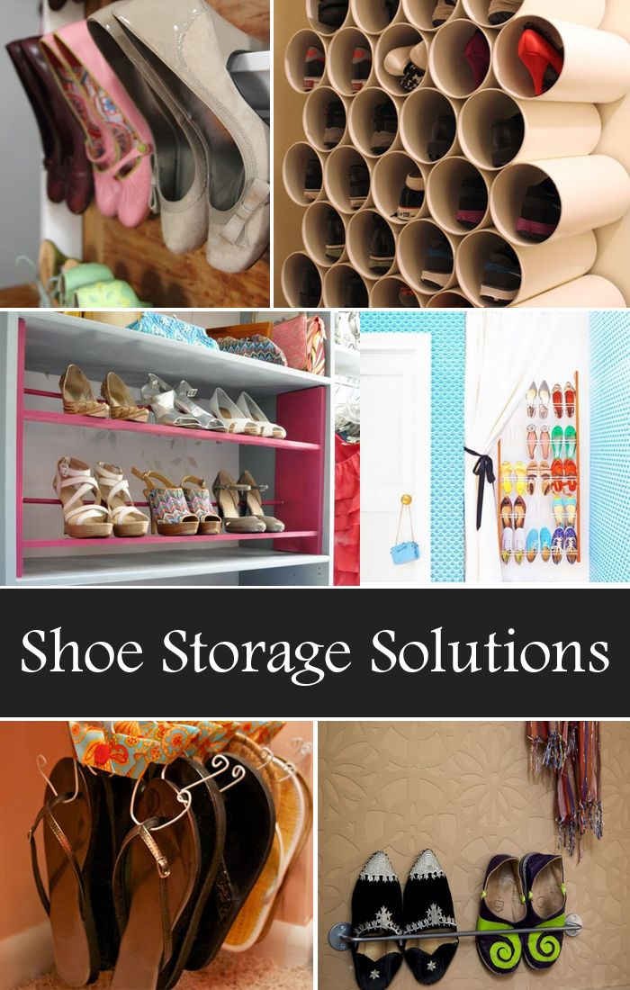17 best ideas about shoe storage solutions on pinterest small shoe rack shoe storage rack and. Black Bedroom Furniture Sets. Home Design Ideas