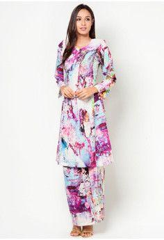 CDC Crepe Studded Baju Kurung