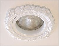 """Recessed Light Trim in Victorian Style for 5"""" recessed lights"""