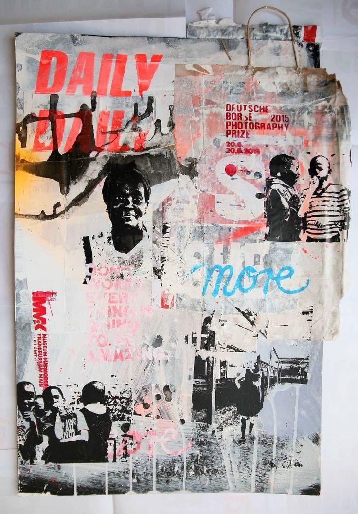 "Saatchi Art Artist Manuela Karin Knaut; Painting, ""Africa daily"" #art"