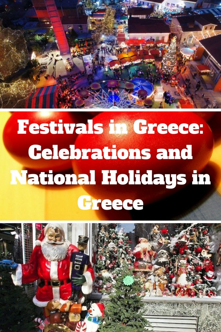Festivals in Greece: Celebrations and National Holidays in Greece. #Greece #Easter #Christmas #GreekEaster