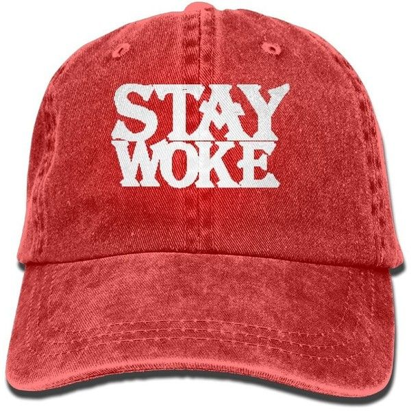 Amazon Com Stay Woke Polo Style Classic Baseball Dad Hat For