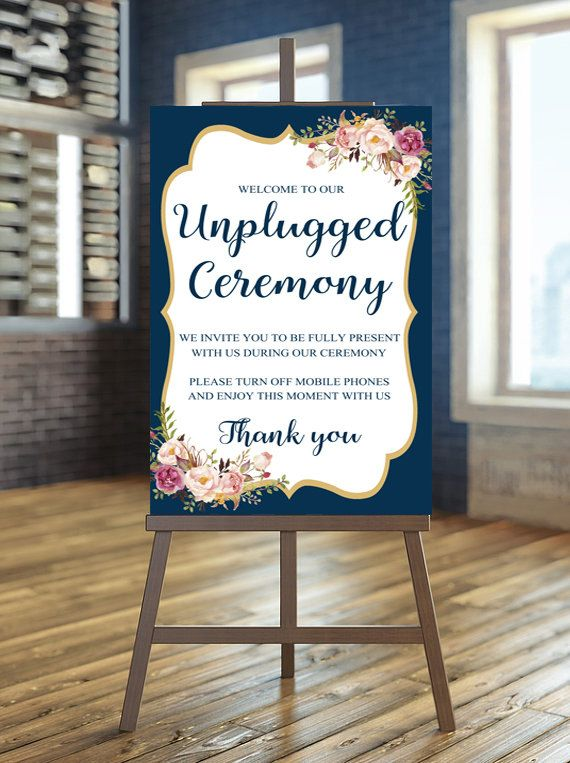Best 25 unplugged wedding sign ideas on pinterest unplugged floral wedding details junglespirit