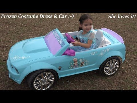 Barbie Power Wheels Ride On Car & Step 2 Roller Coaster Toys for Kids W/ Pink Supergirl Superhero - YouTube