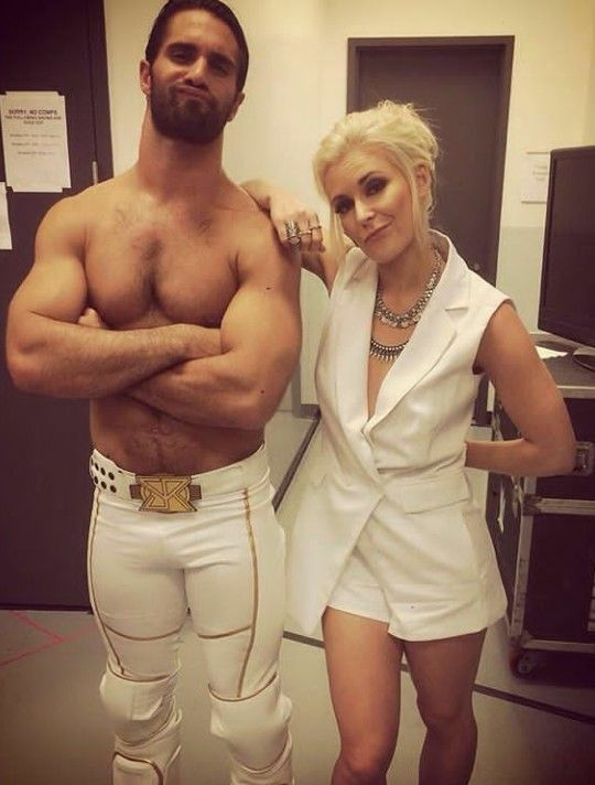 Seth rollins and Renee young