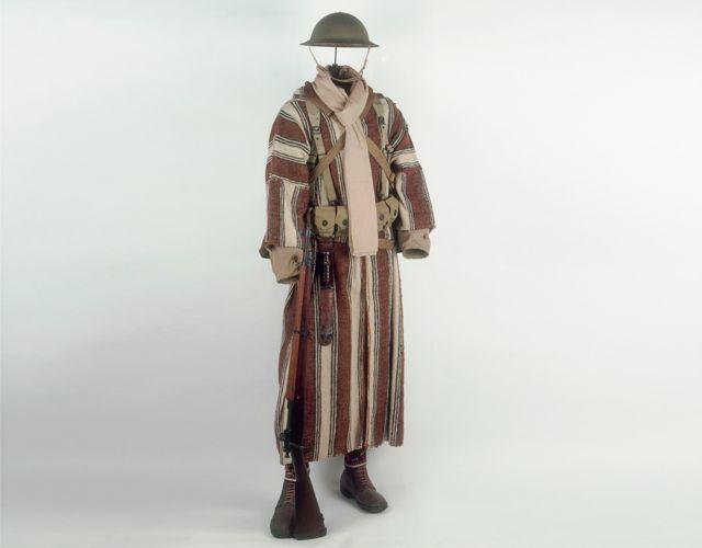 Goumier marocain (1944) - Musée de l'Armée                                                                                                                                                                                 Plus