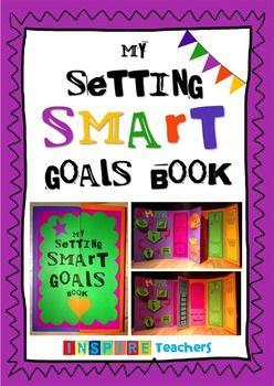 Everything you need to help your students set and reach SMART (Specific, Measurable, Action, Relevant and Time-bound) goals! This interactive book is a fun, engaging and creative way to set SMART and achievable goals.
