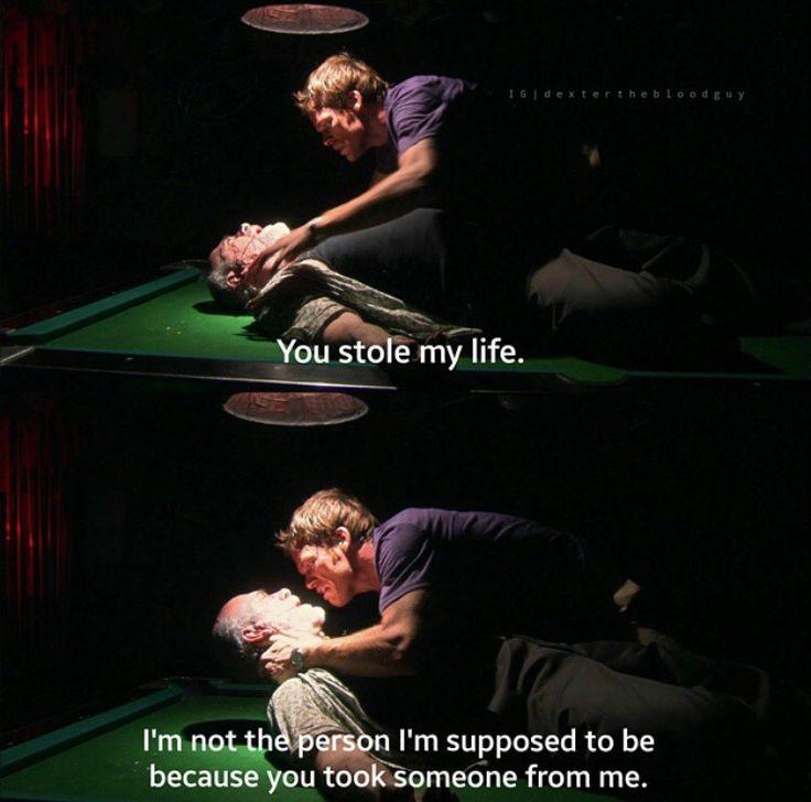 Dexter's modus operandi