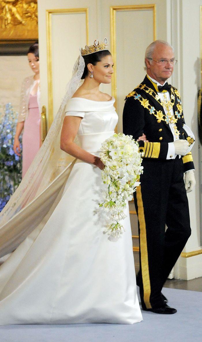 The 24 Most Stunning Royal Wedding Dresses Throughout History Royal Wedding Gowns Royal Wedding Dress Royal Brides [ 1182 x 700 Pixel ]