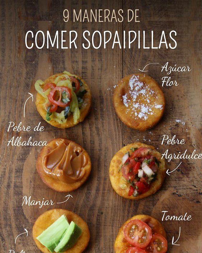 A quién engañamos.. las #sopaipillas son buenas con todo! La #receta fácil y rápida con  #fotos del paso a paso en el #blog  mi favorita el #pebre #agridulce www.cherrytomate.com #chile #instagood #foodie