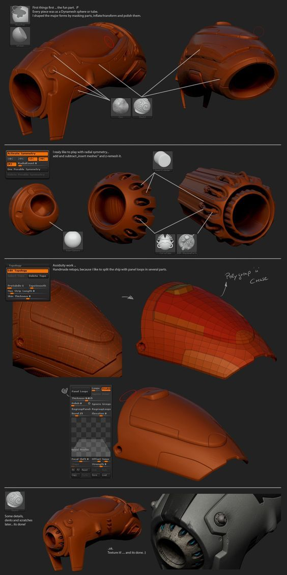 http://www.zbrushcentral.com/showthread.php?179294-Some-works-for-practice/page4: