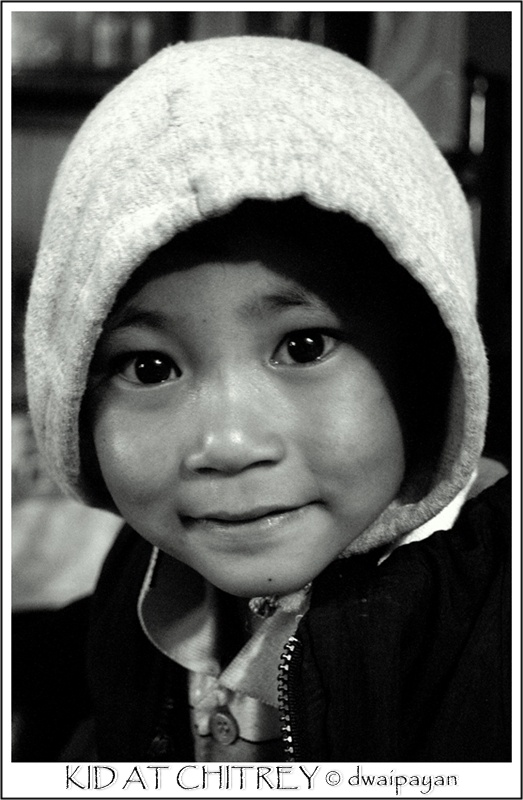 kid at chitrey - Chitrey, West Bengal