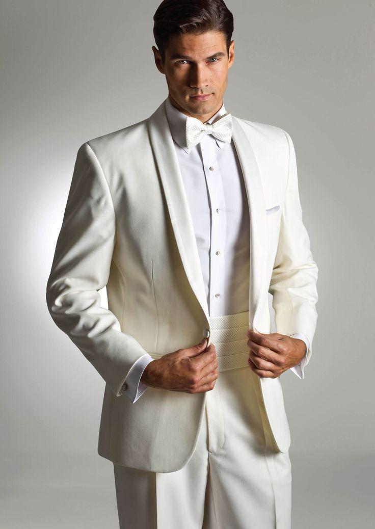 Ivory Kristoff One Button Shawl by Savvi - Tuxedos