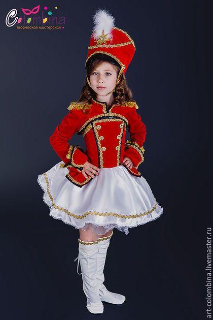 Купить или заказать Костюм мажоретки в интернет-магазине на Ярмарке Мастеров. карнавальный костюм мажоретки для девочки. комплектация: платье, болеро, кивер Сапожки продаются отдельно 134-146+300…