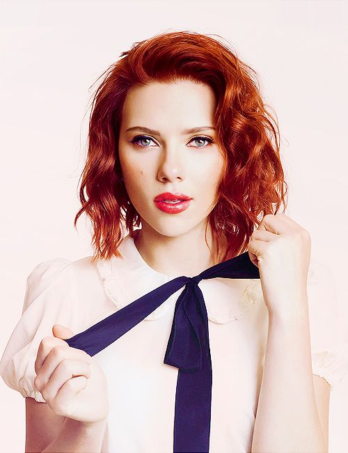 Want this hair colour... and cut... and face... okay so can I just be her? That cool?