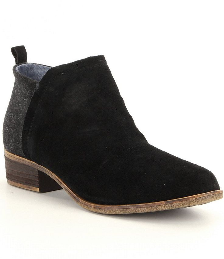 Black:TOMS Deia Booties