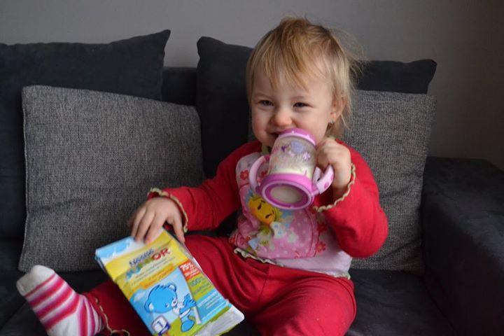 Pyszne śniadanko z Nestle Junior #NestleJUNIOR #pysznesmaki #miód #wanilia