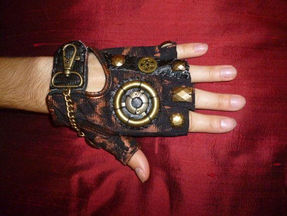 Women's Steampunk Noir Moonhoar Monster Glove by Moonhoar on Etsy, $30.00