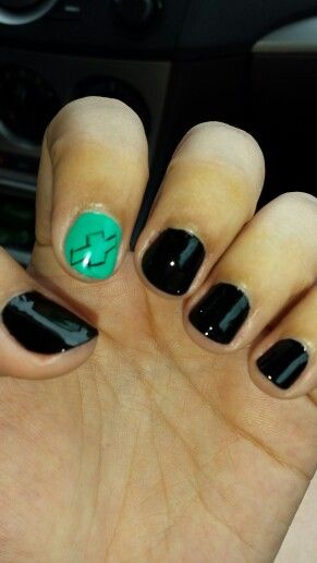 My new chevy nails :)