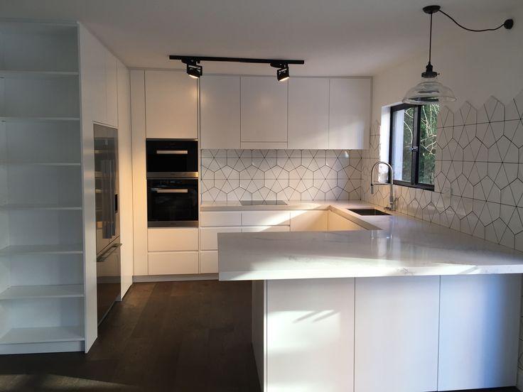Beautiful Kitchen White Poly finish