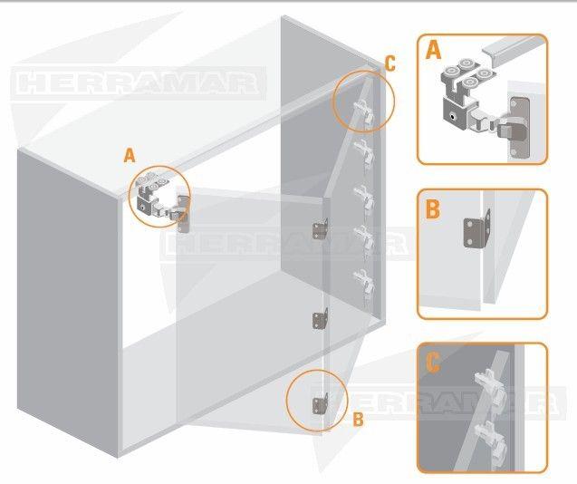 8 best images about puertas plegadizas de aluminio on for Puertas de aluminio para bano