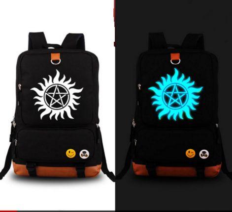 HQ LIMITED GLOW IN DARK Supernatural Backpack