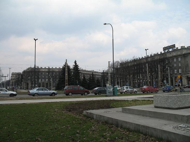 plac Centralny im. Ronalda Reagana w Krakowie