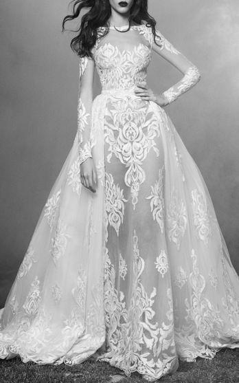 Zuhair Murad Bridal Look 5 on Moda Operandi