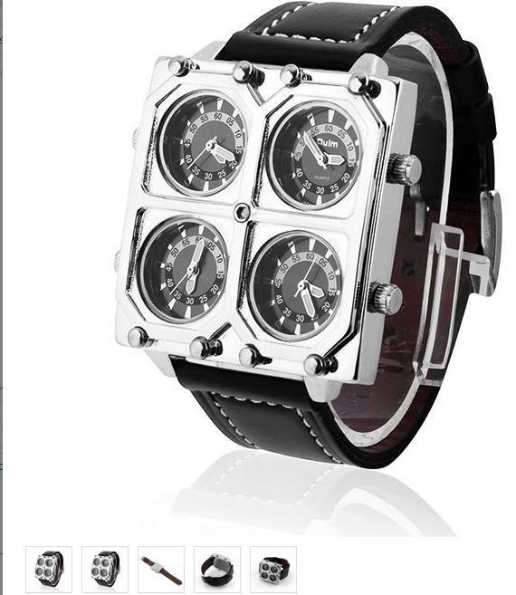 Zegarek męski- czarny