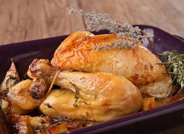 Roasted Chicken and Garlic | 44 Classic French Meals You Need To Try Before You Die